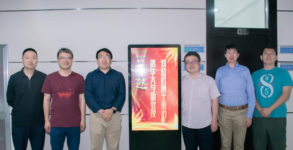 刘知远副教授访问哈工大SCIR实验室